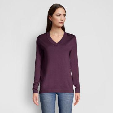 Signature Merino V-Neck Sweater -