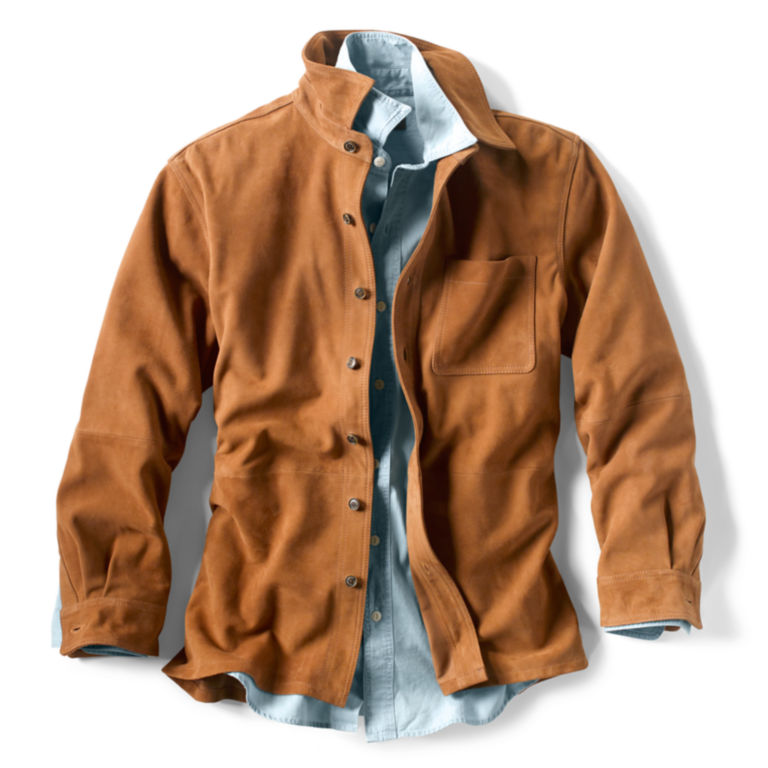 Suede Overshirt -  image number 1