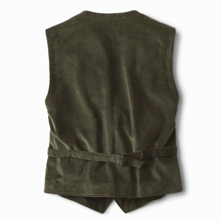 Corduroy Vest - OLIVE image number 1