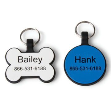 Silicone No-Rattle Dog Tag -  image number 0