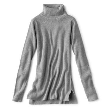 Ribbed Turtleneck Sweater -