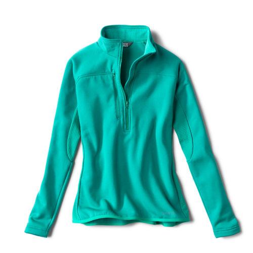 A Woman's Pro quarter-zip fleece