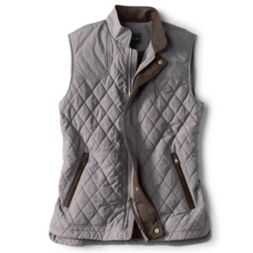 RT7 Quilted Vest - HEATHER GRAY