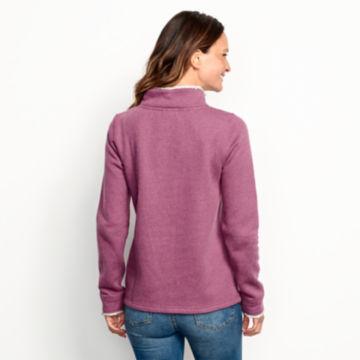 Mockneck Sherpa-Lined Sweatshirt -  image number 4