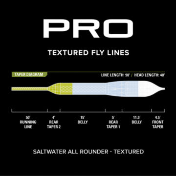 Pro Saltwater All Rounder Fly Line—Textured -  image number 2