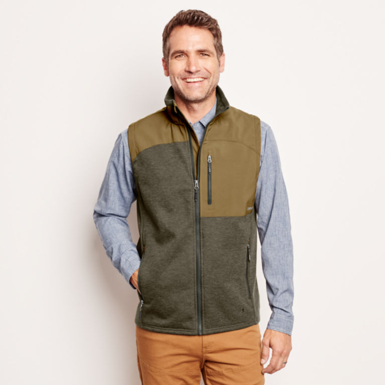 Hybrid Wool Fleece Vest -  image number 1