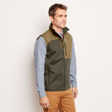 Hybrid Wool Fleece Vest -  image number 2