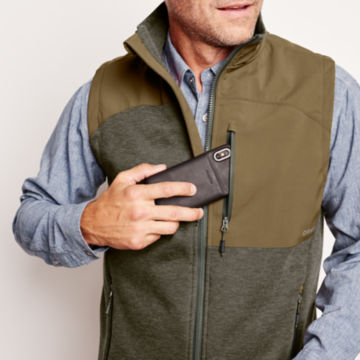 Hybrid Wool Fleece Vest -  image number 5