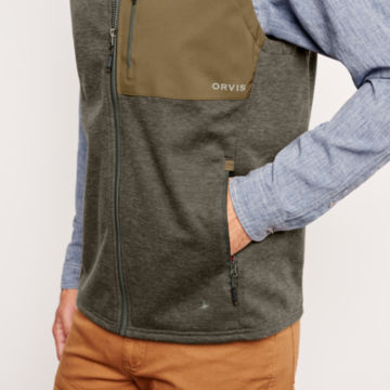 Hybrid Wool Fleece Vest -  image number 4