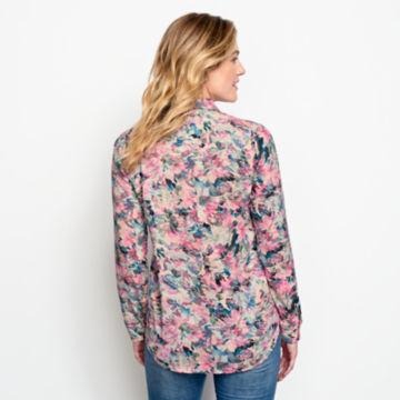 Long-Sleeved Everyday Silk Shirt -  image number 2