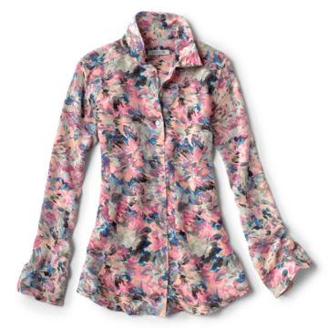 Long-Sleeved Everyday Silk Shirt -  image number 4