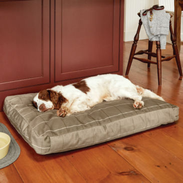 Orvis ToughChew®  ComfortFill-Eco™ Platform Dog Bed -