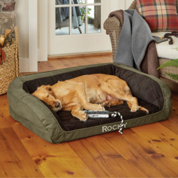 Heritage AirFoam Bolster Dog Bed -