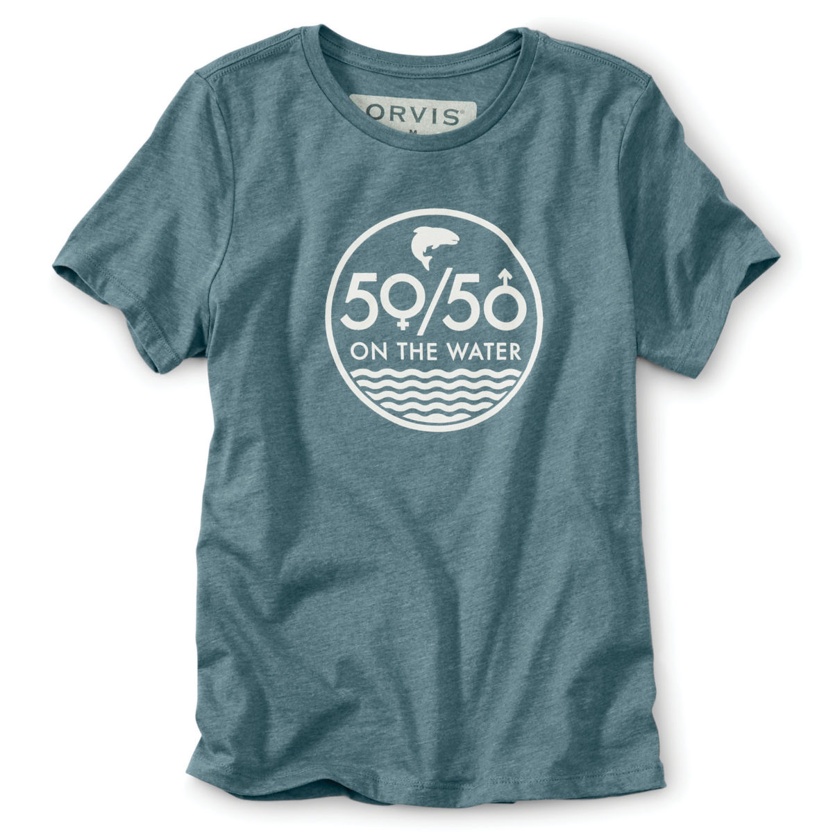 Women's 50/50 Short-Sleeved Tee - image number 0
