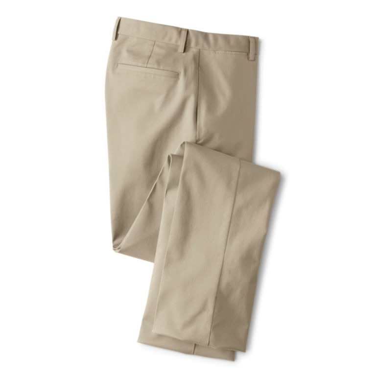 Trim Fit Wrinkle-Free Cotton Stretch Chinos -  image number 0