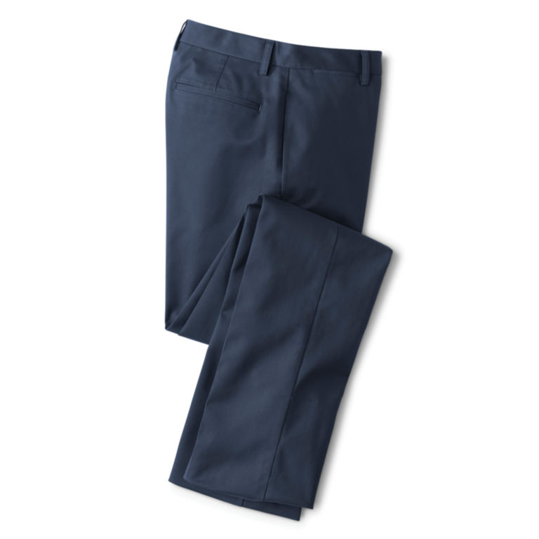 Trim Fit Wrinkle-Free Cotton Stretch Chinos -  image number 1