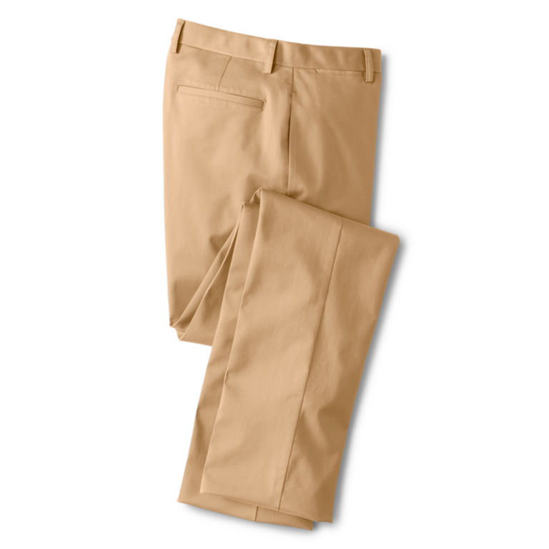 Trim Fit Wrinkle-Free Cotton Stretch Chinos -  image number 3