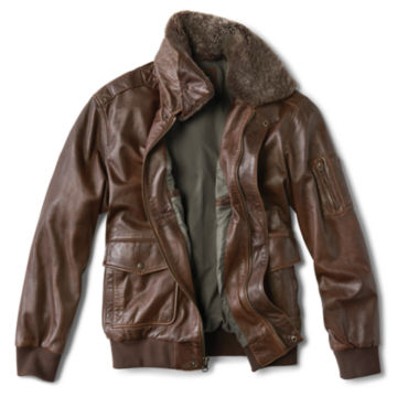 Spirit II Leather Jacket - DARK TAN image number 2