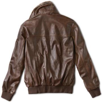 Spirit II Leather Jacket - DARK TAN image number 3