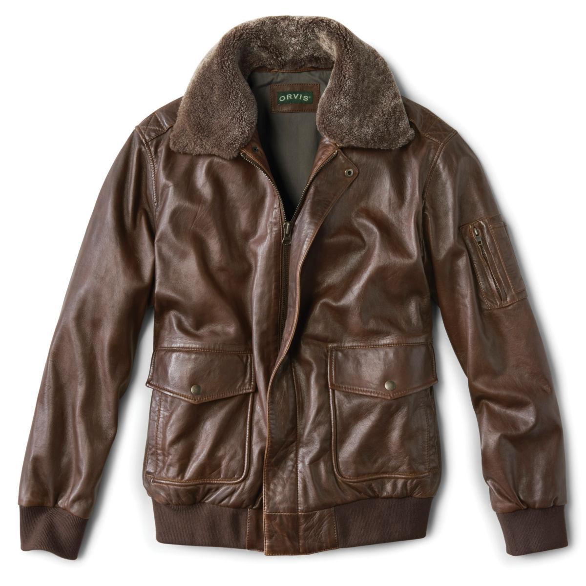 Spirit II Leather Jacket - DARK TANimage number 0