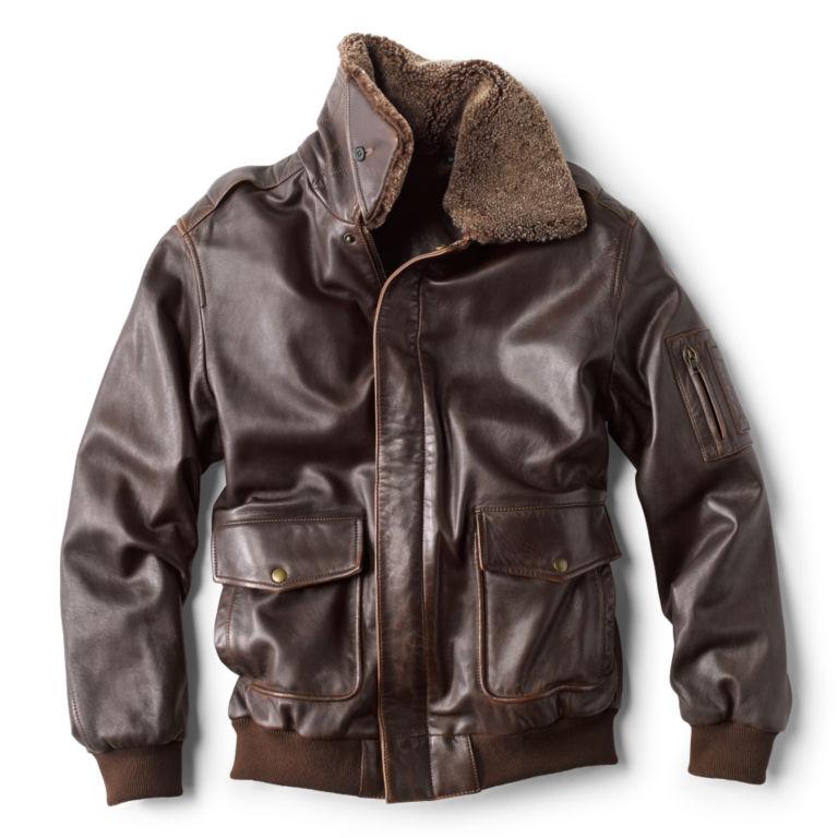 Spirit II Leather Jacket - DARK TAN image number 1