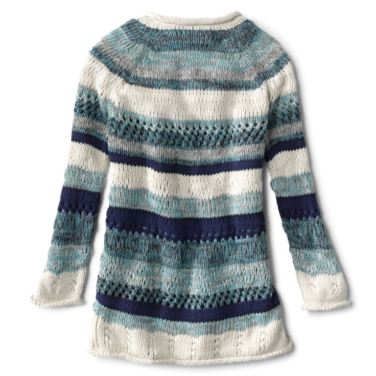 Textured Striped Sweater -  image number 1