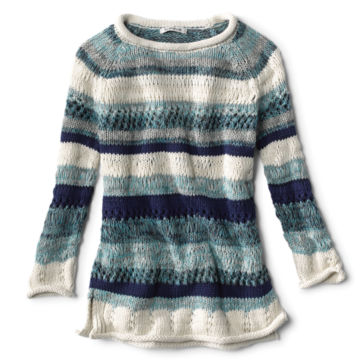 Textured Striped Sweater -  image number 0