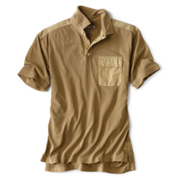 Short-Sleeved Safari Polo -  image number 0