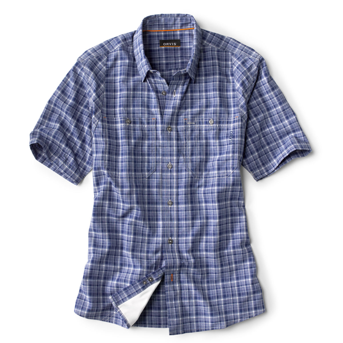 Tech Chambray Short-Sleeved Work Shirt - image number 0