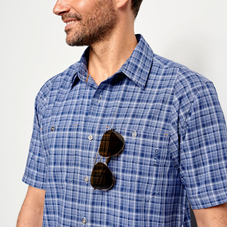 Tech Chambray Short-Sleeved Work Shirt -  image number 5