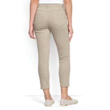 Concord Cropped Jeans - KHAKI image number 2