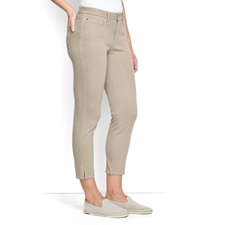 Concord Cropped Jeans - KHAKI image number 1