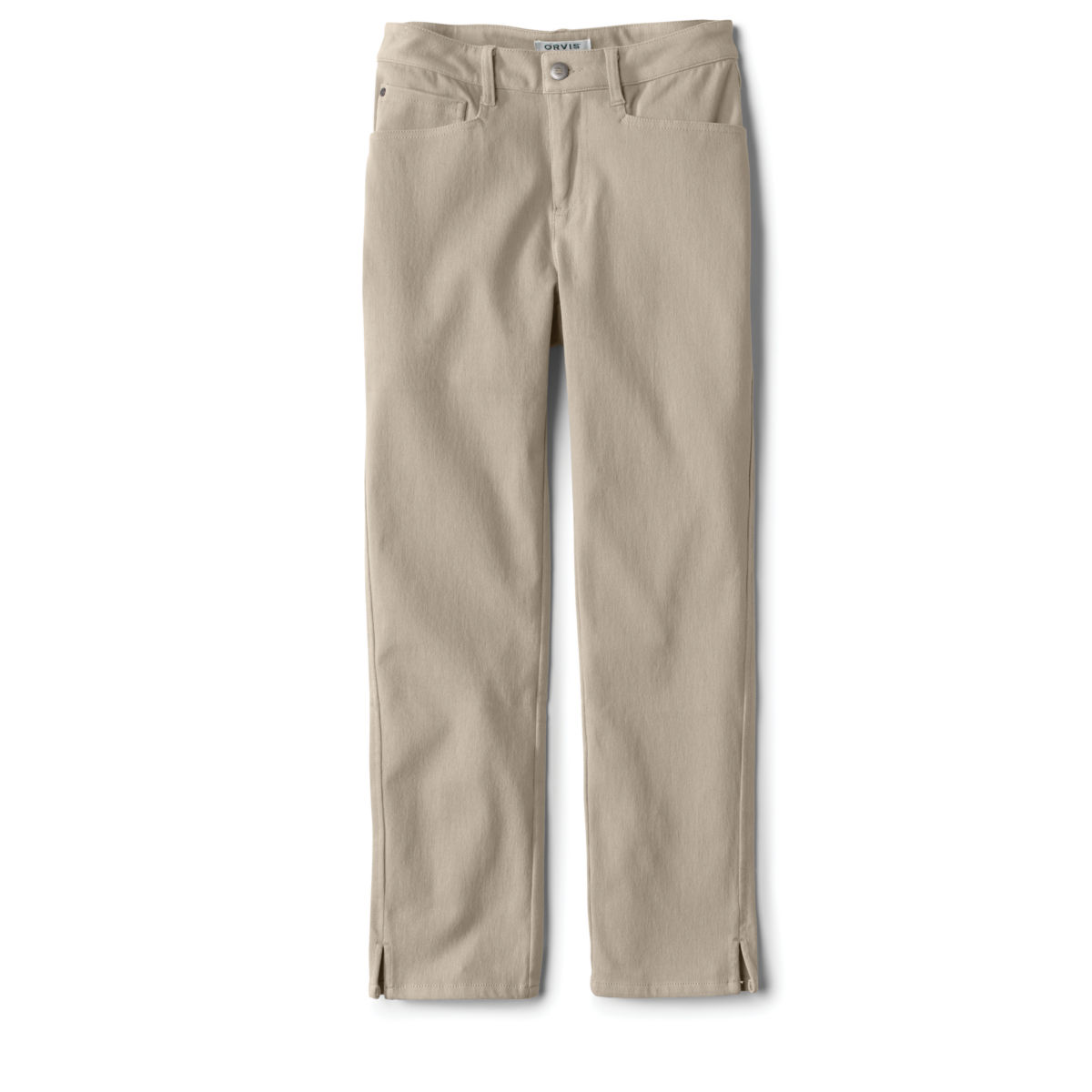 Concord Cropped Jeans - KHAKIimage number 0