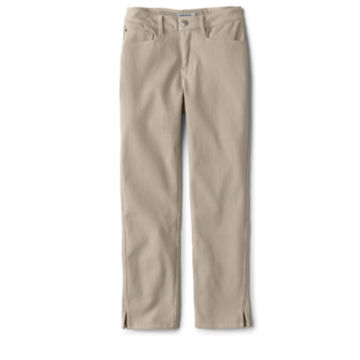 Concord Cropped Jeans - KHAKI image number 3