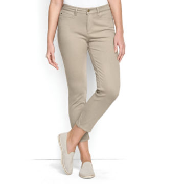 Concord Cropped Jeans - KHAKI image number 0