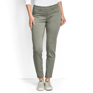 All-Day Stretch Twill Ankle Pants -