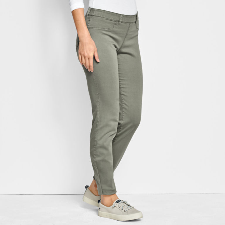 All-Day Stretch Twill Ankle Pants -  image number 1