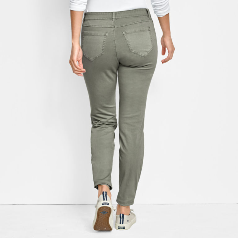 All-Day Stretch Twill Ankle Pants -  image number 2