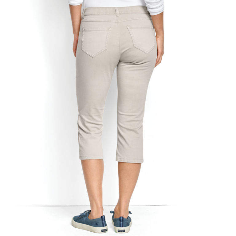 All-Day Stretch Twill Capris -  image number 2