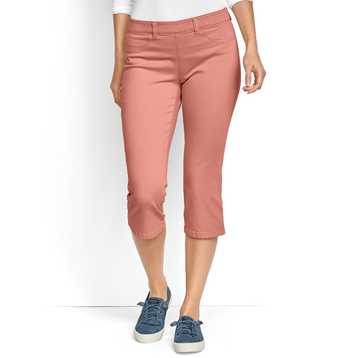 All-Day Stretch Twill Capris - image number 0