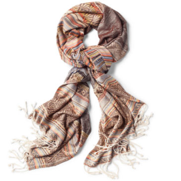 Blue Ridge Jacquard Scarf -