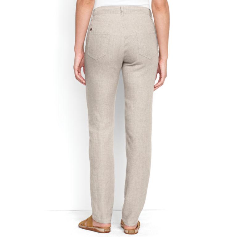 Linen Jeans -  image number 1