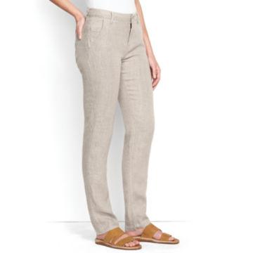 Linen Jeans -  image number 2