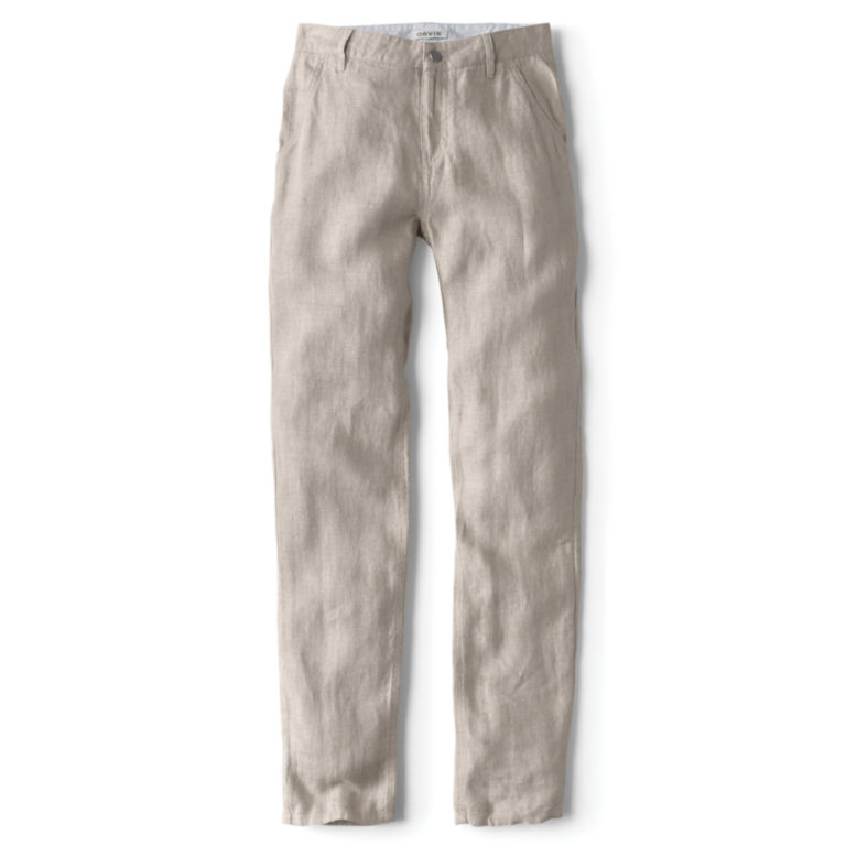 Linen Jeans -  image number 3