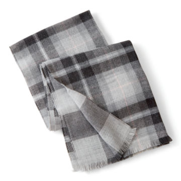 Reversible Plaid/Checked Scarf -  image number 0