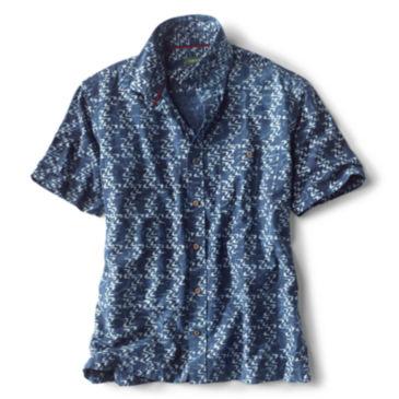 Currents Print Short-Sleeved Shirt -