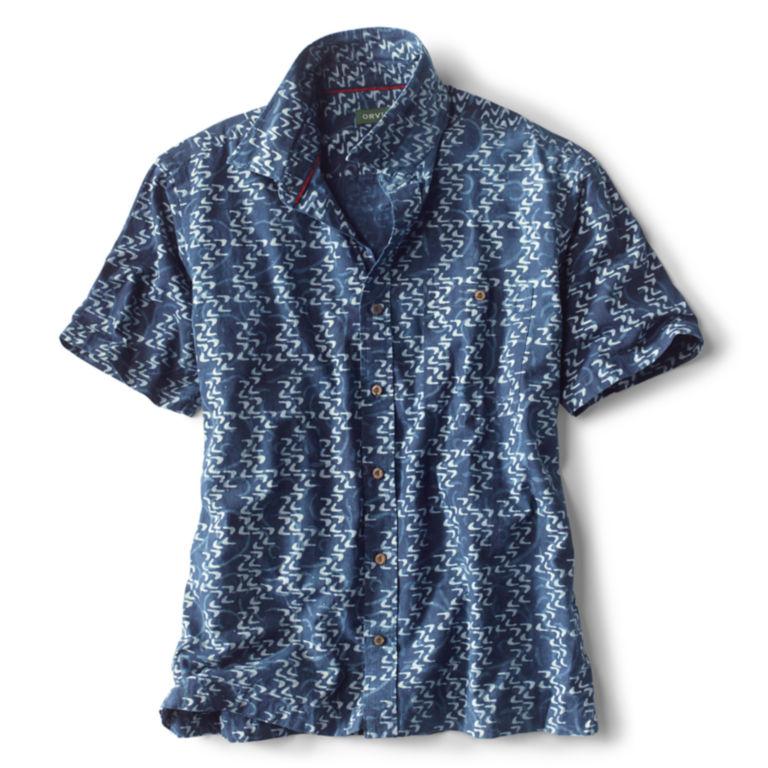 Currents Print Short-Sleeved Shirt -  image number 1