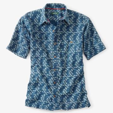 Currents Print Short-Sleeved Shirt -  image number 0