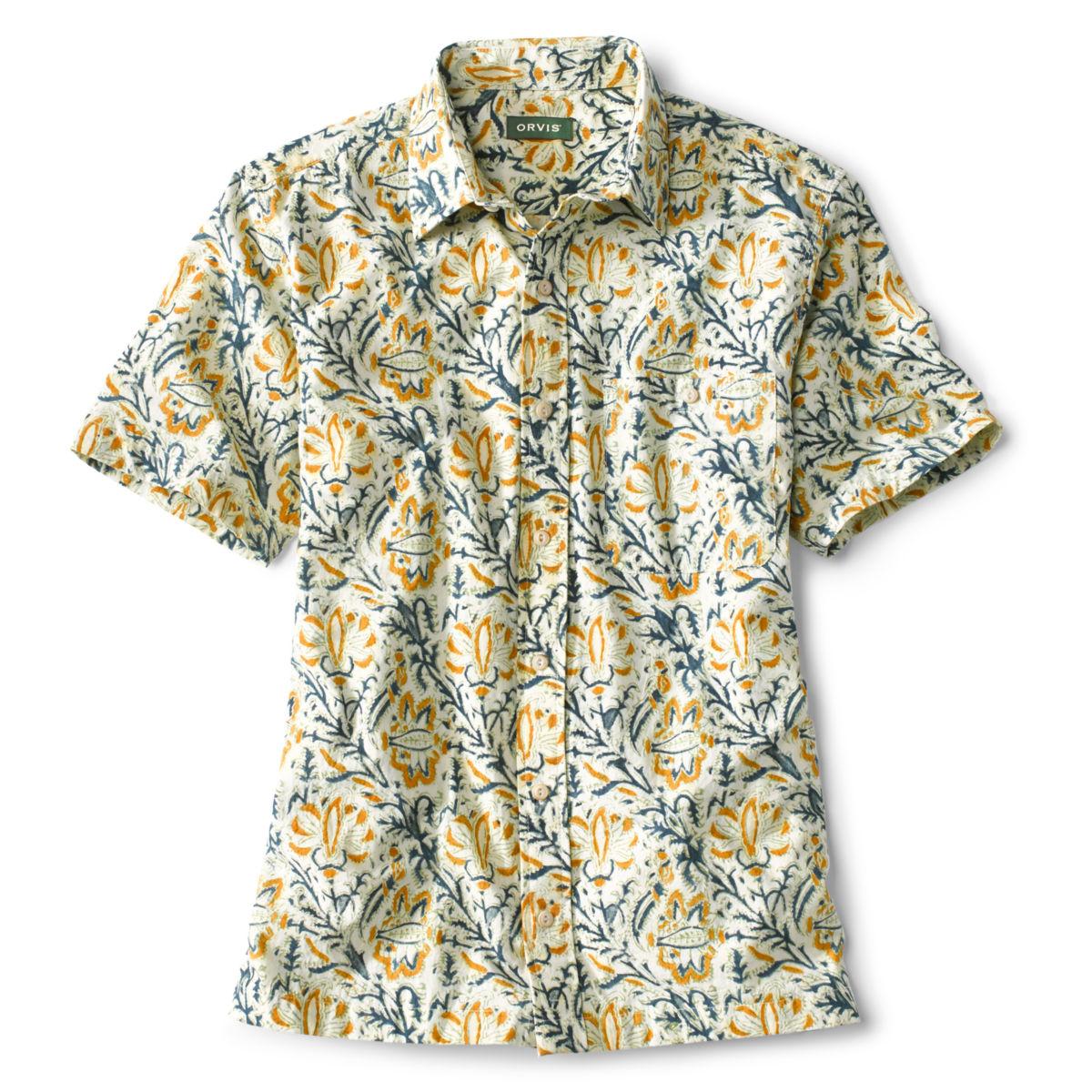 Kalamkari Block Print Shirt - image number 0