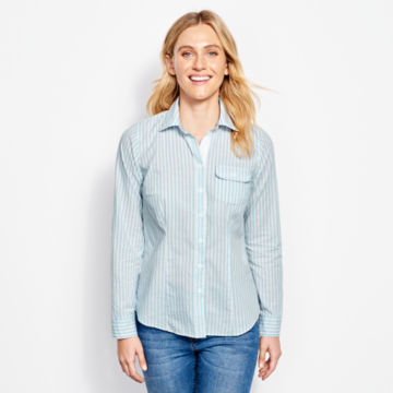 Classic Yarn-Dyed Striped Shirt -  image number 0